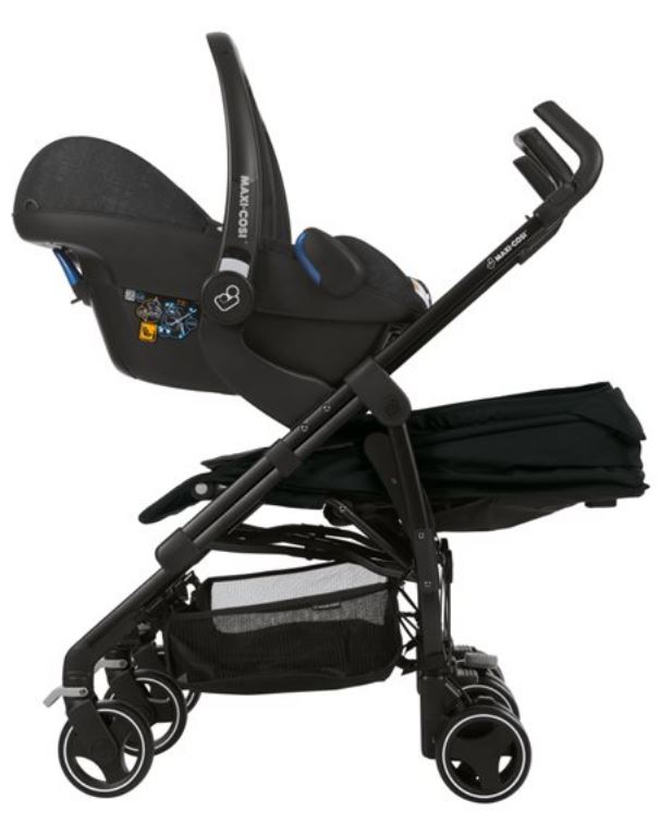 Maxi Cosi Dana Twin Stroller + 2pcs cabriofix Carseats Bundle + Free 3 Years Local Warranty!!