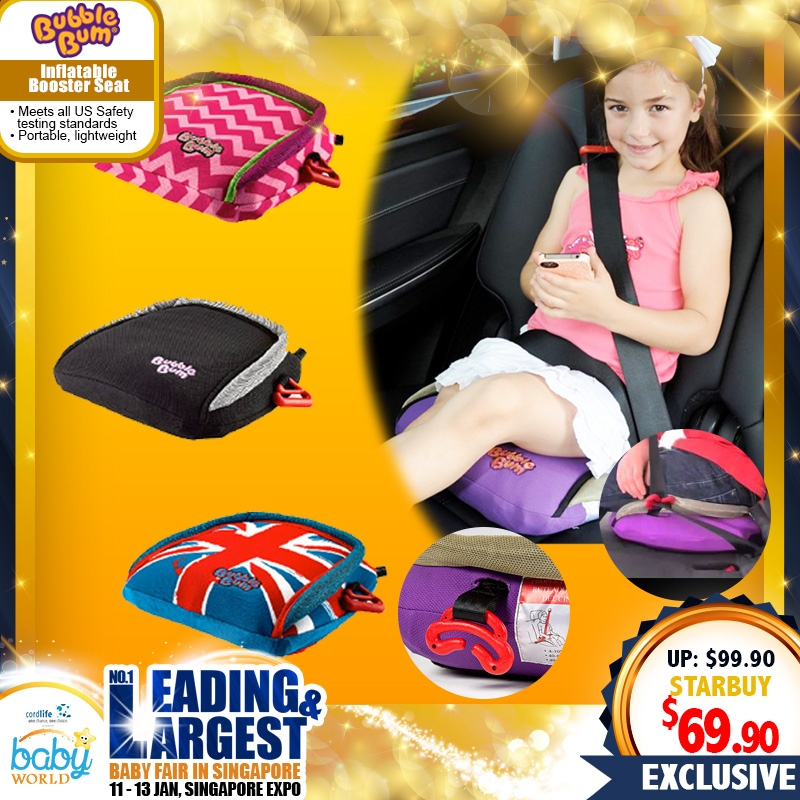 Bubblebum Inflatable Booster Seat