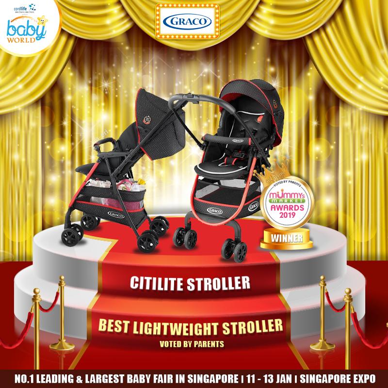 GRACO - Best Newborn-Toddler Lightweight Stroller