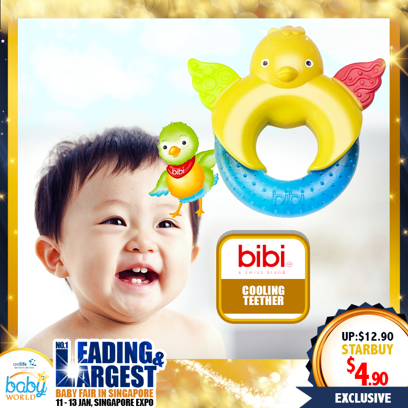 Bibi Cooling Teether Ring