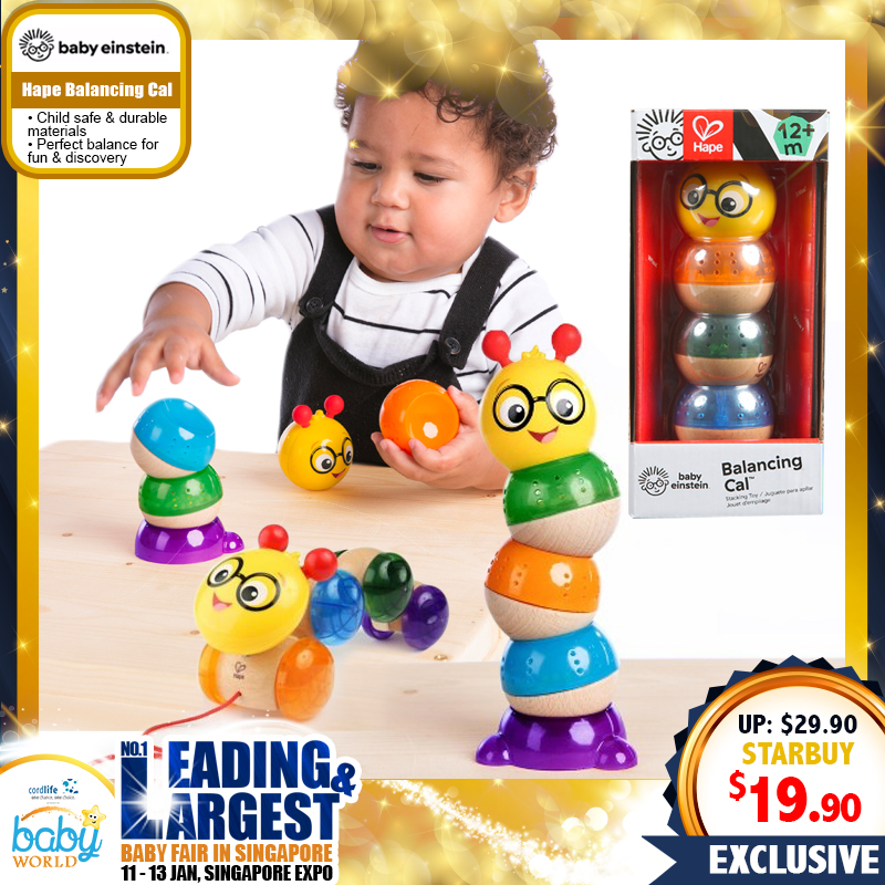 Baby Einstein Hape Balancing Cal Stacking Toy