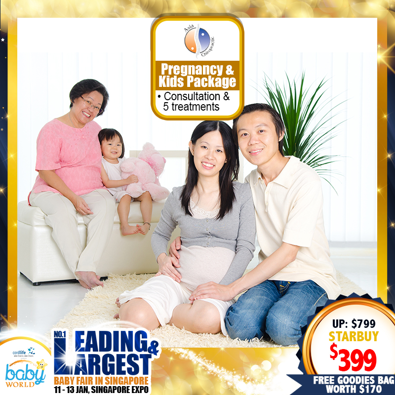 Pregnancy and Kids Package - Asia Chiropractic and Wellness Singapore