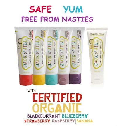 Jack N' Jill Natural Kids Toothpaste *BUY 1 GET 1 FREE!