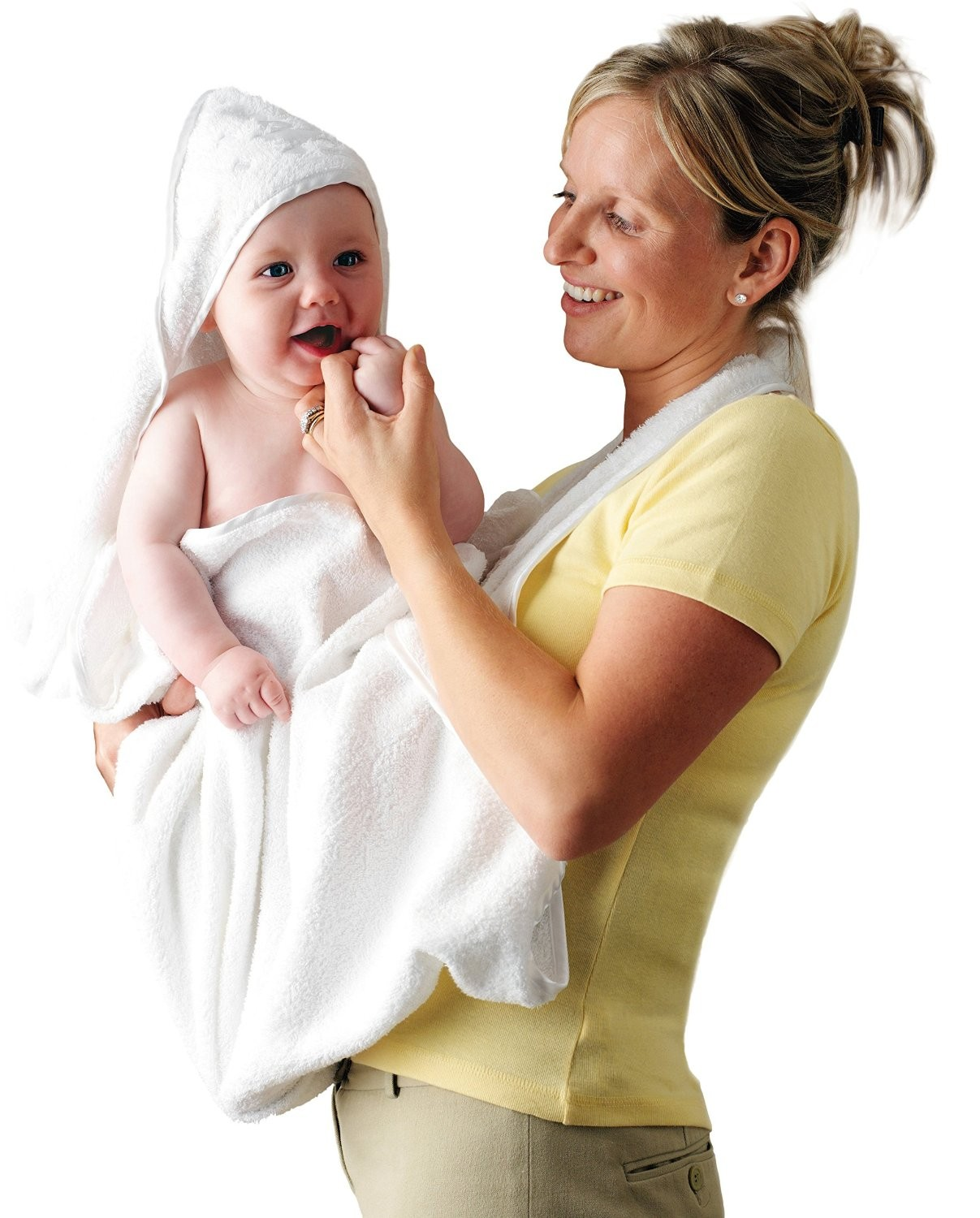 CLEVAMAMA Splash & Wrap Baby Bath Towel + FREE GIFT!