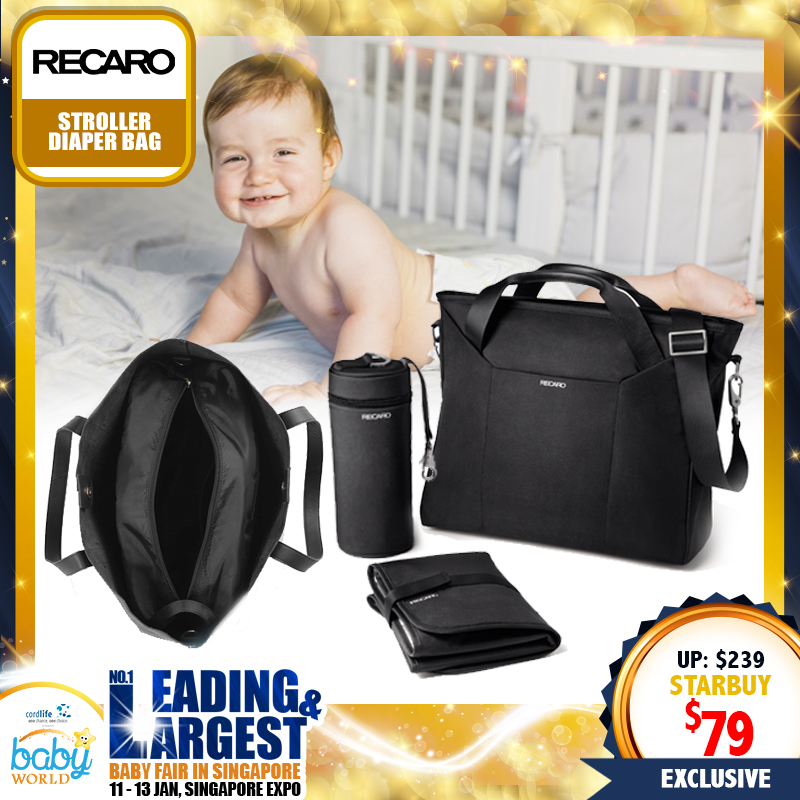 Recaro Stroller Diaper Bag (Stroller Accessories)