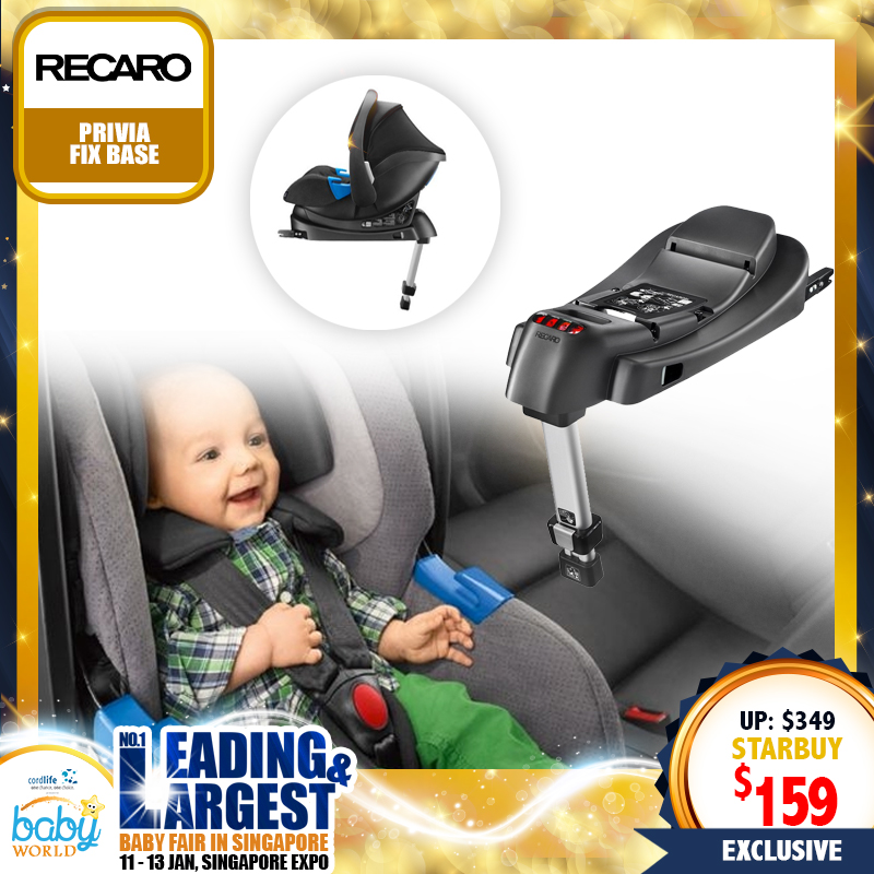 RECARO Privia Infant Carseat Fix Base (Carseat / Stroller Accessories)