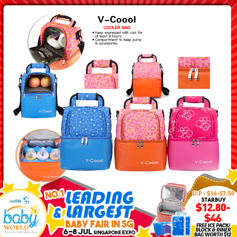 V-Coool Cooler Bags + FREE Gif