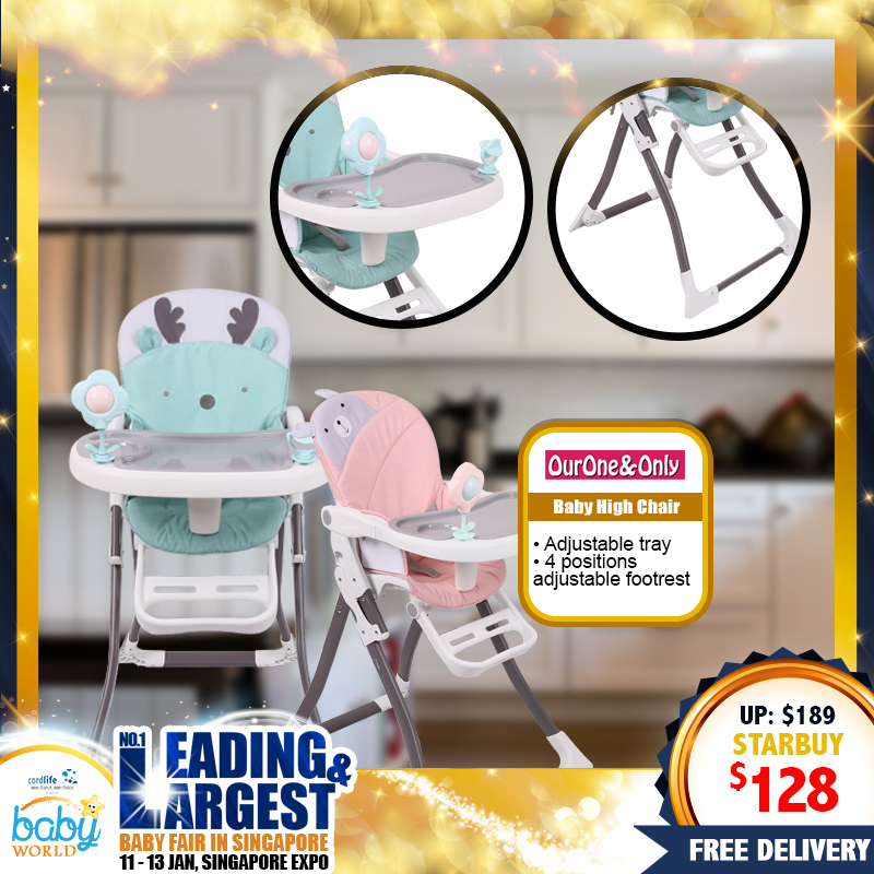 NEW LAUNCH!! OurOne&Only Baby Highchair (FREE Door to Door Delivery!!) *ADDITIONAL DISCOUNT with SAVE MORE COUPON!!