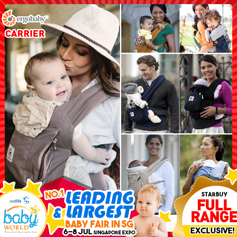 Ergobaby Carrier Full Range!