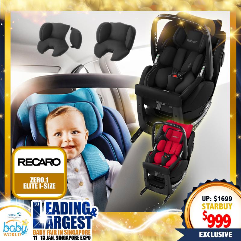 Recaro Zero 1 Elite R129 i-Size CarSeat
