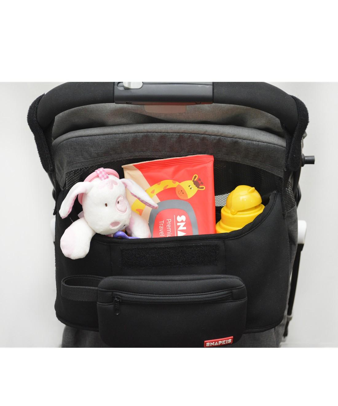Snapkis 2-IN-1 Stroller Organiser & Tote Bag