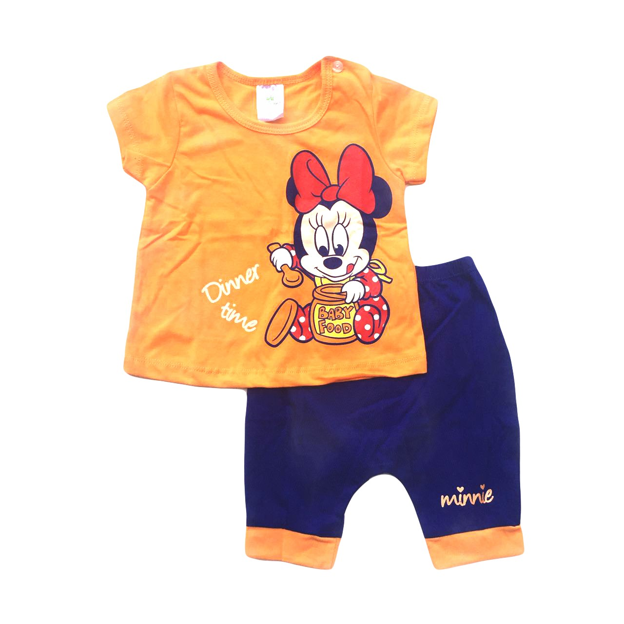 Elise Minnie Short Sleeve Tshirt and Shorts Set