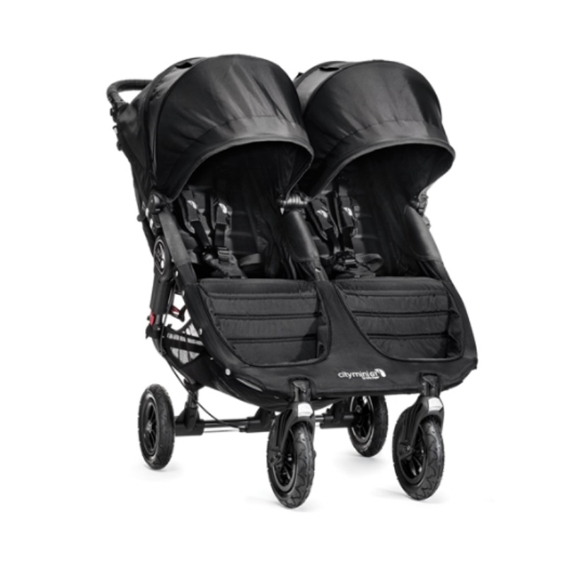Baby Jogger City Stroller Mini GT Double Black