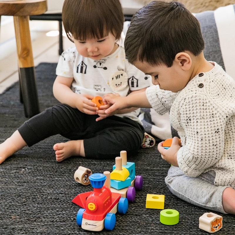 Baby Einstein Hape Discovery Train Wooden Toy