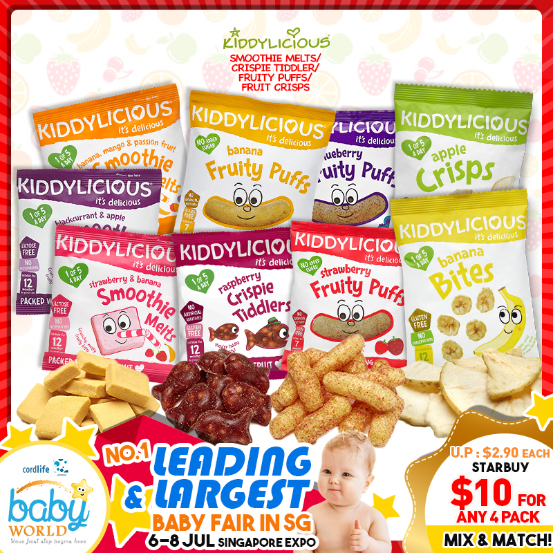 Kiddylicious Baby Food (Mix & Match)