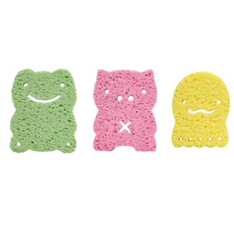 Ange Shower Sponges (Bundle of 3)