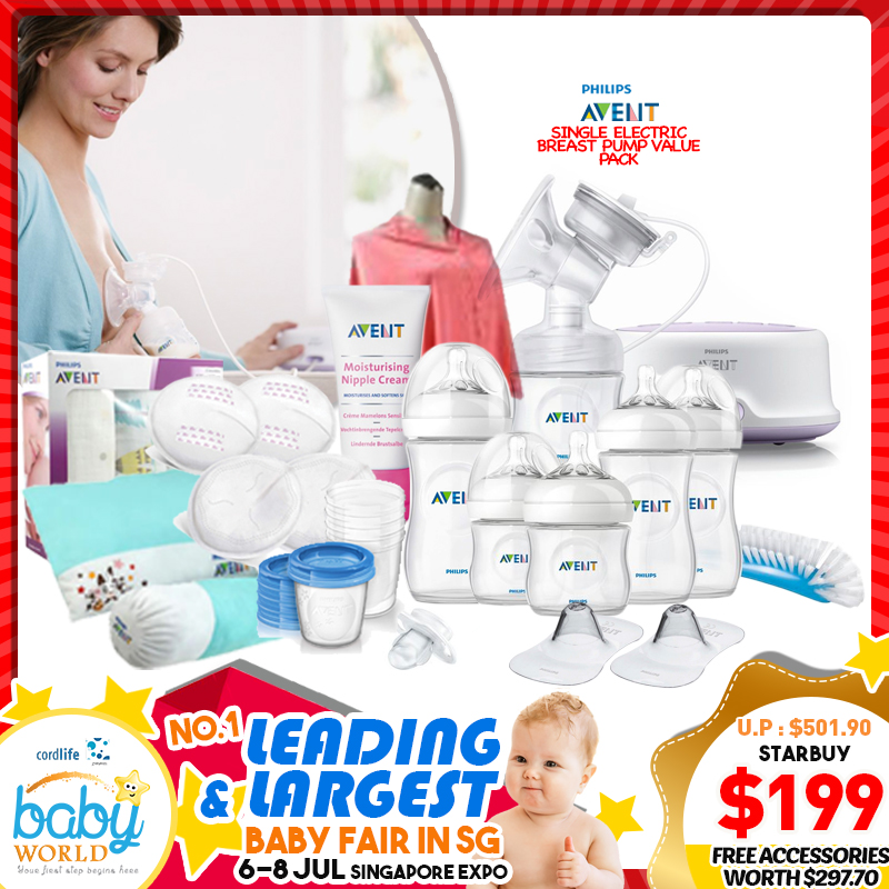 Philips Avent Single Electric Breastpump Value Pack