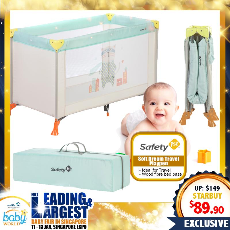 Safety 1st Soft Dream Travel Playpen