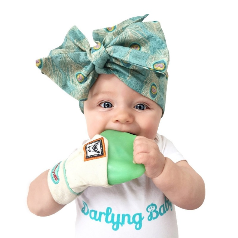Yummy Mitt Teething Mitten (Assorted Colors Available)
