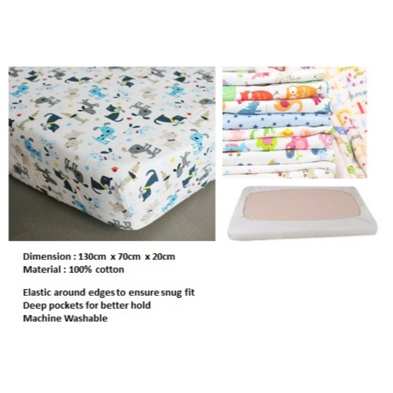 Little Tots Fitted Crib Sheet (50 PERCENT OFF NOW)