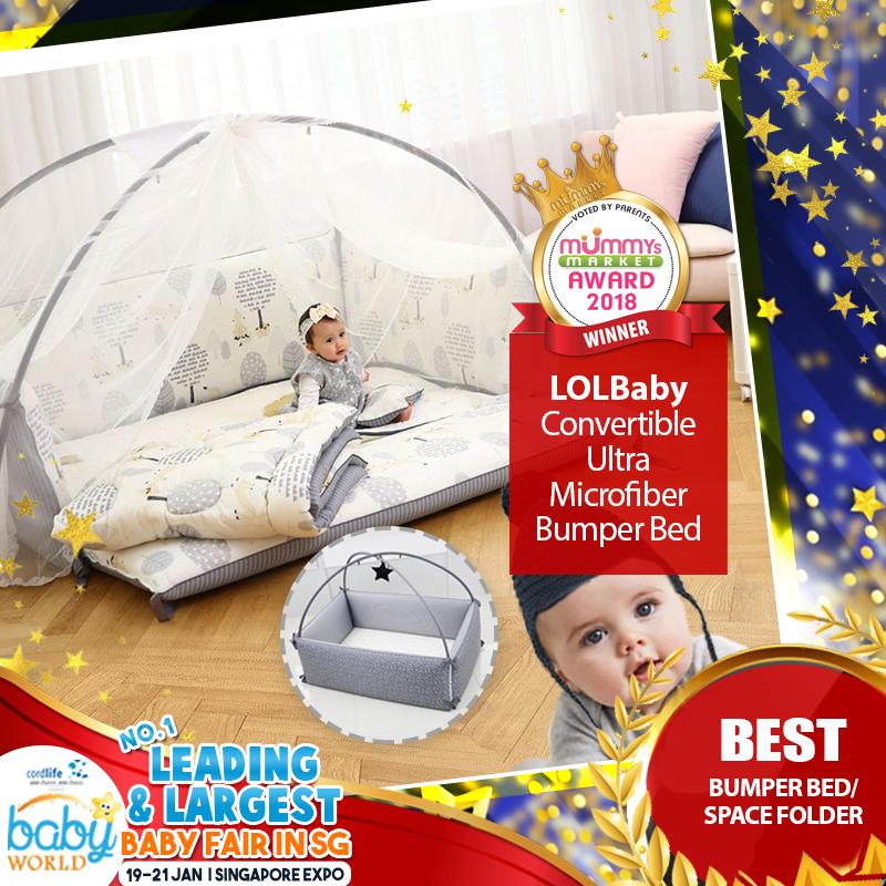 LOLBABY - Best Bumper Bed / Space Folder
