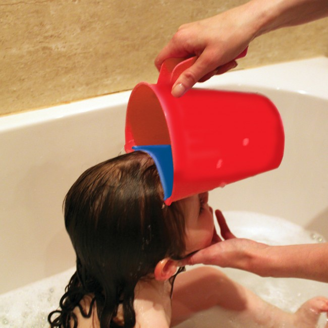 Clevamama Kids Shower Buindle (ClevaRinse Shampoo Rinse Cup + Under The Sea Shower Mat + Jack N Jill Sweetness Moisturizer)