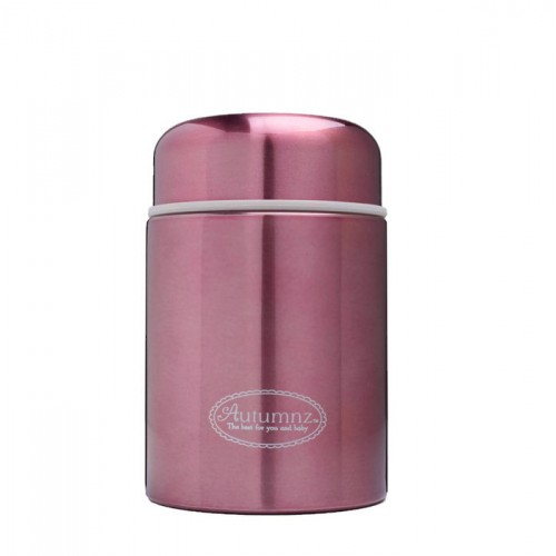 Autumnz -  Metallic Stainless Steel Food Jar 450ml