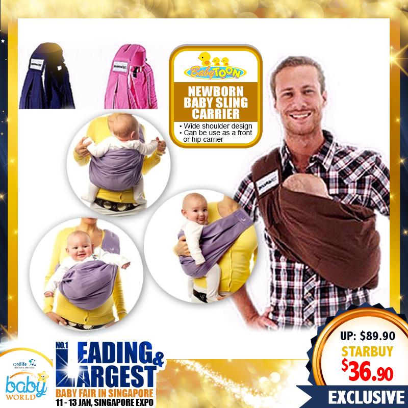 Babytoon Newborn Baby Sling Carrier