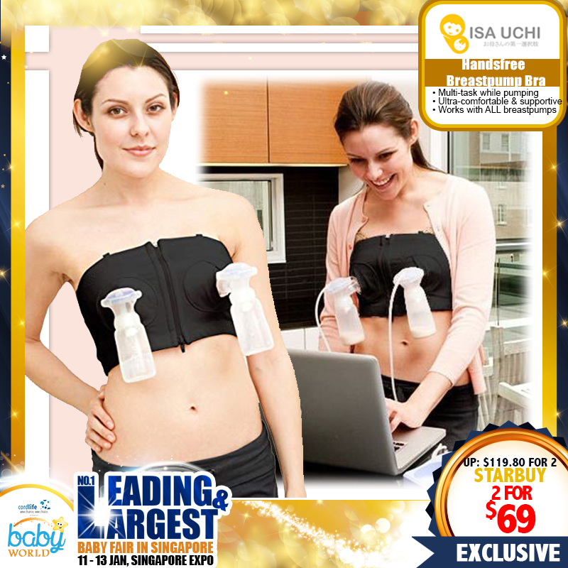 Simple Wishes Handsfree Pumping Bra