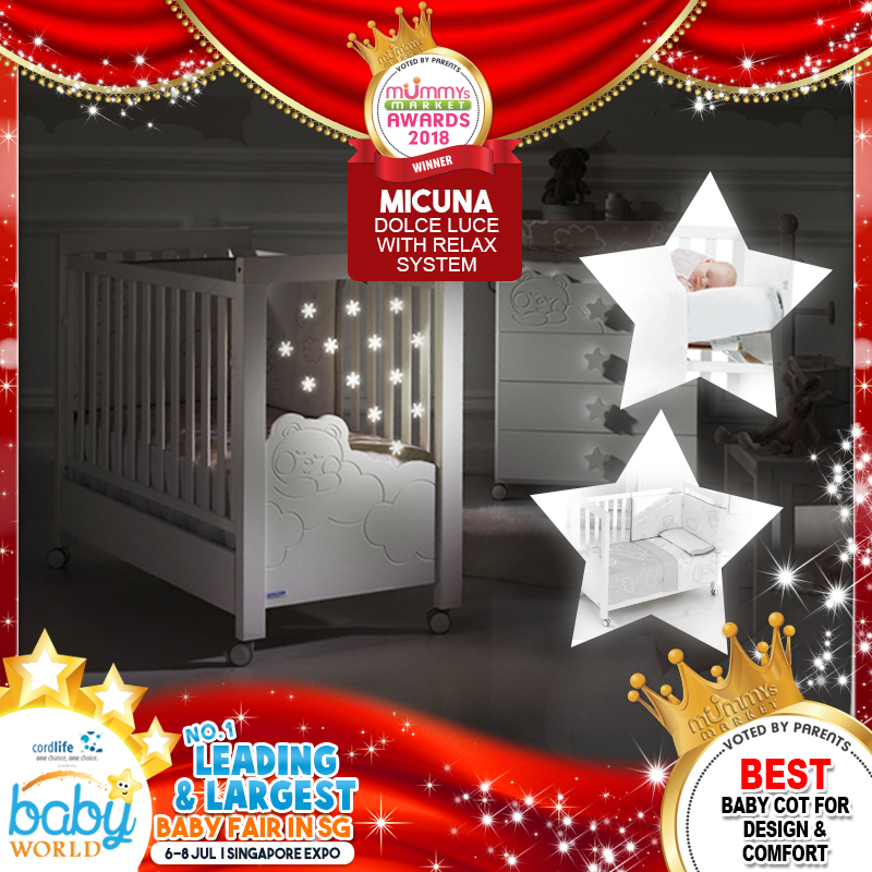 MICUNA - Best Designed Baby Cot
