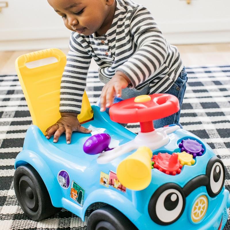 Baby Einstein Road Tripper Ride-On Car Toy Walker