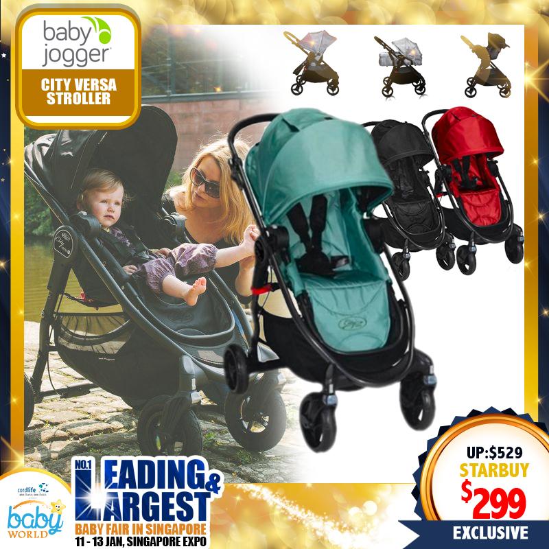 Baby Jogger City Versa Black Stroller
