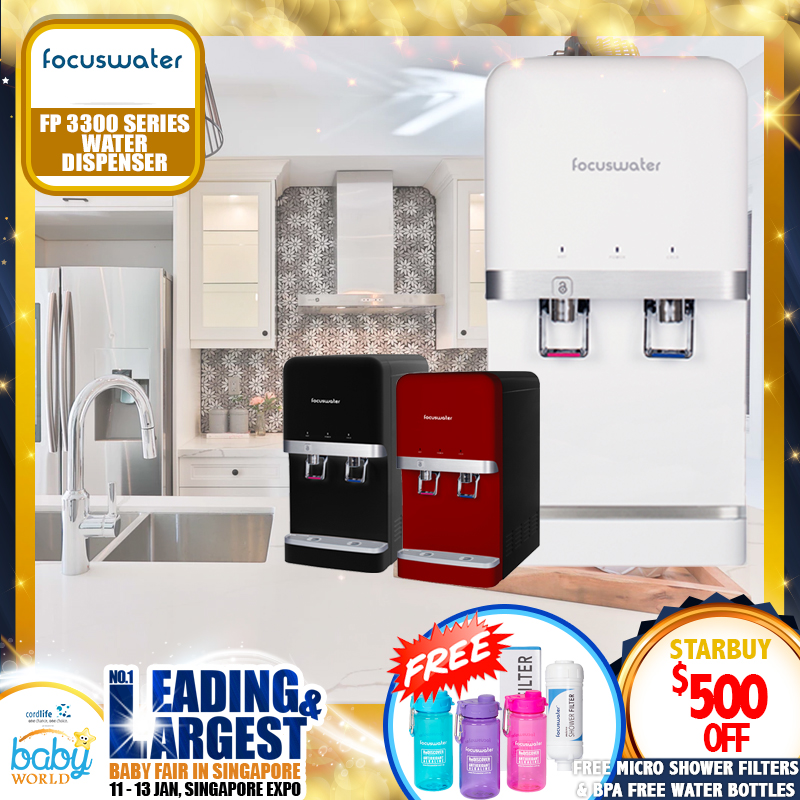 Focuswater FP3300 Series Water Purifier + FREE GIFTS