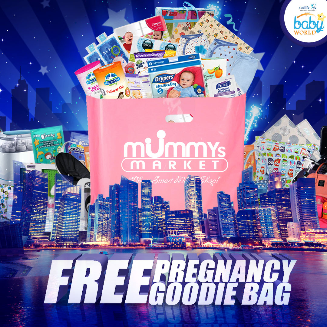 1,500 FREE Goodie Bags For Mummies!