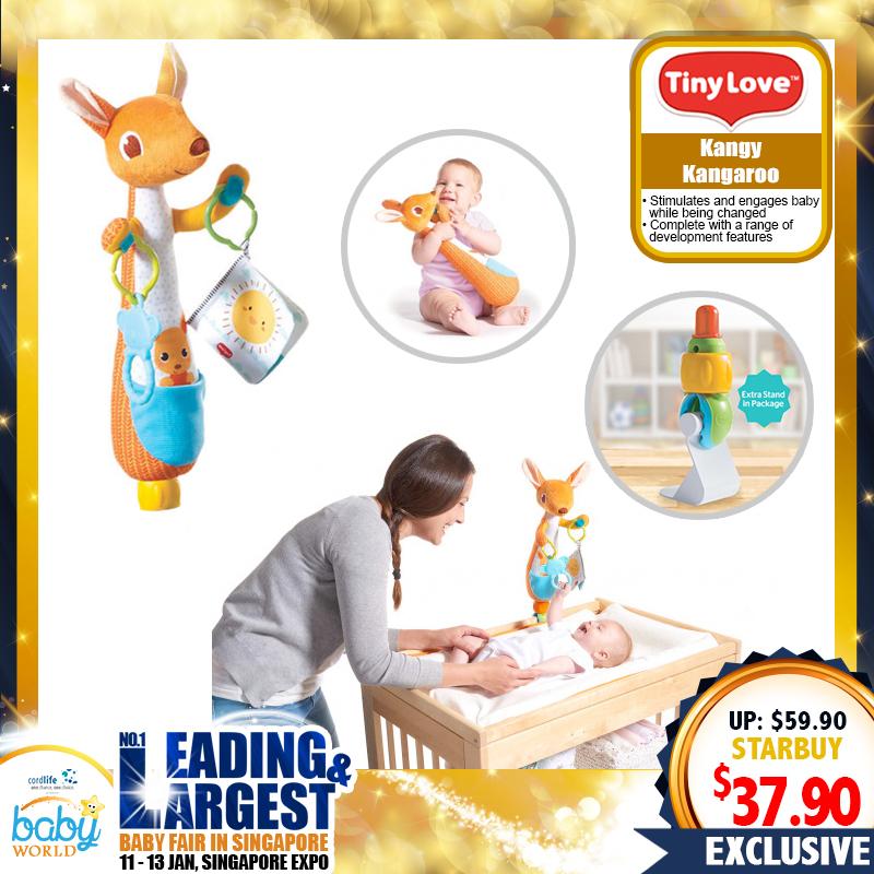 TinyLove Kangy Kangaroo Changing Toy