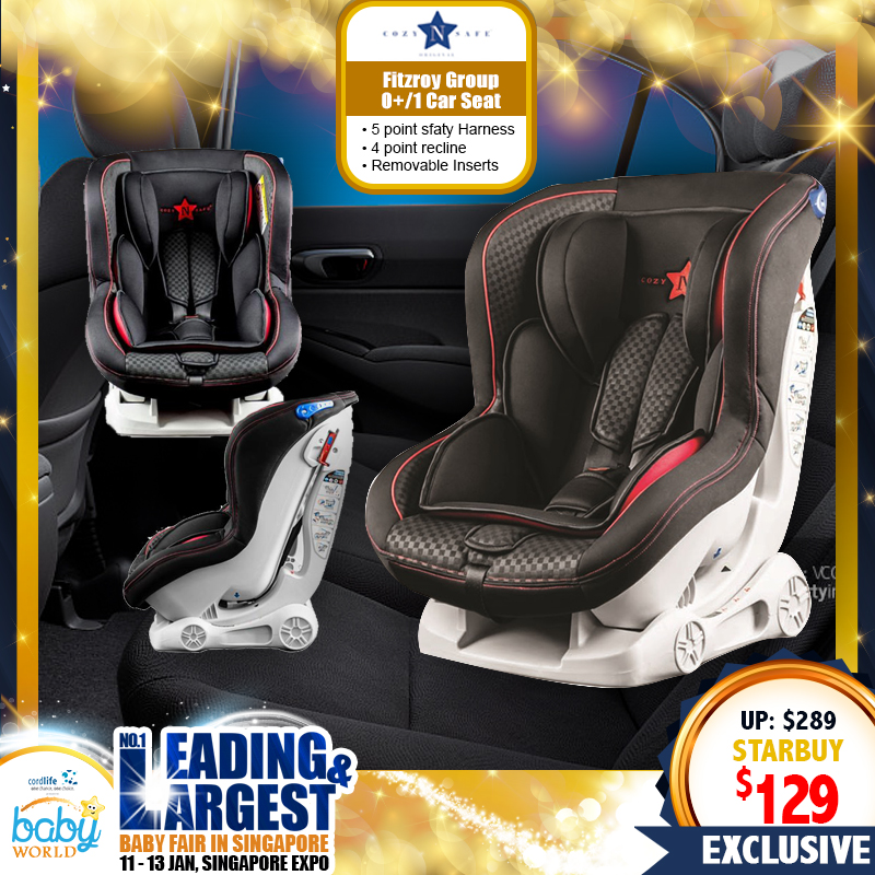 Cozy & Safe Fitzroy Group 0+/1 Carseat