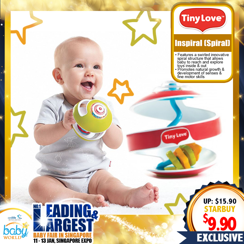 TinyLove Inspiral Swirling Ball Toy (37 PERCENT OFF NOW)