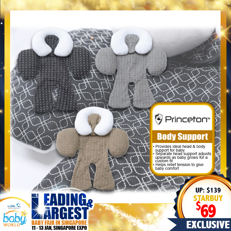 PRINCETON Baby Full Body Support Cushion - Multiple Colors (70 PERCENT OFF!!)