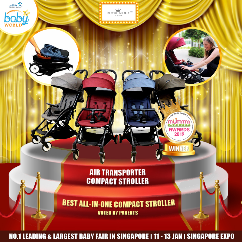 ROYAL KIDDY LONDON - Best All In One Compact Stroller