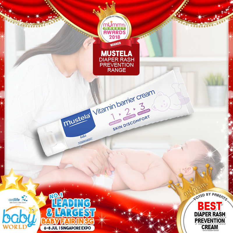 MUSTELA - Best Diaper Rash Prevention Cream