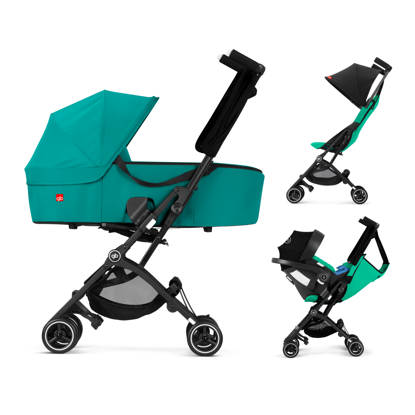 GB Pockit+ Y Stroller Entire R