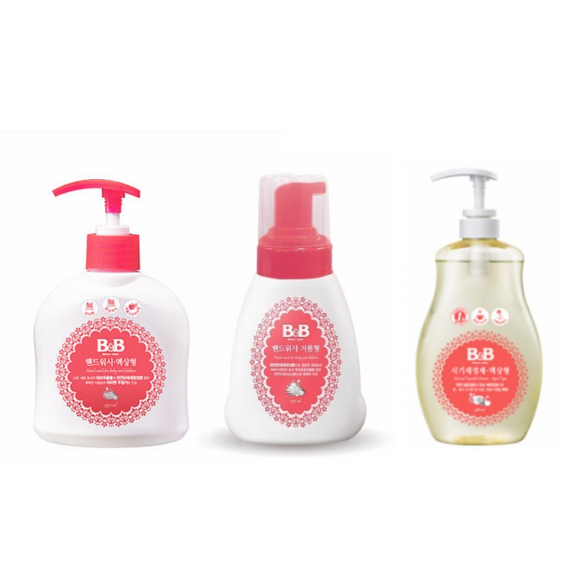 B&B - Hand Wash / Dish and Bottle Cleaner (62 PERCENT OFF!!)