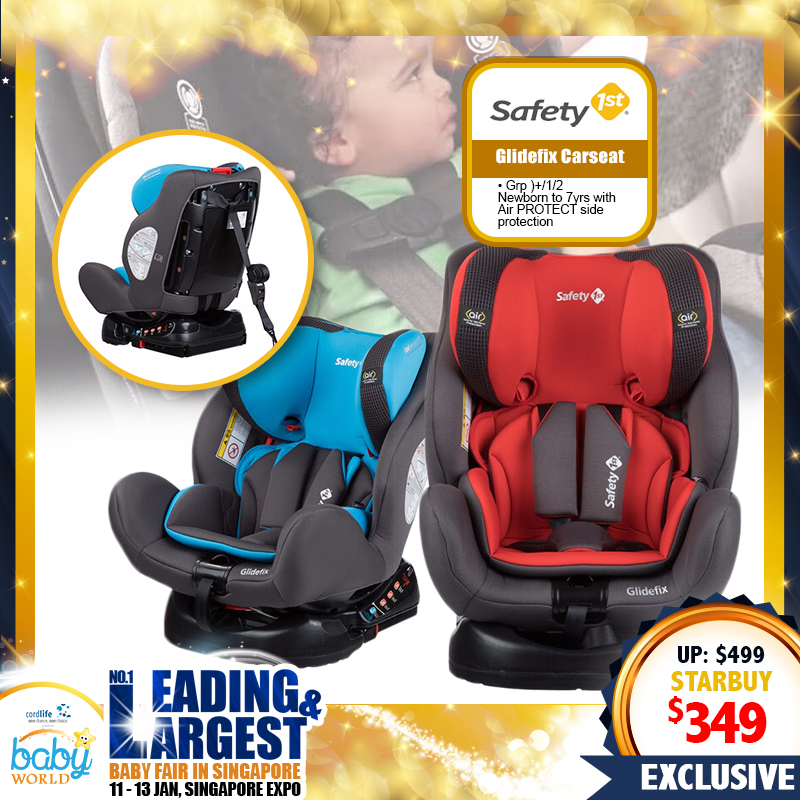 Safety 1st GlideFix Carseat