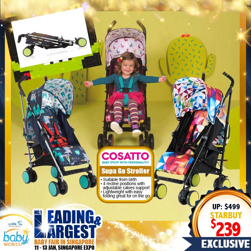 Cosatto Supa Go Stroller (52 Percent OFF!!)